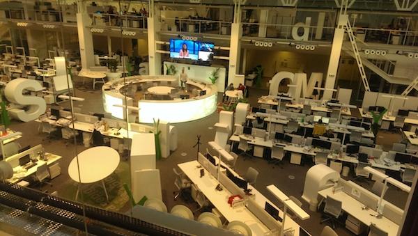Newsroom Economie pohledem z vyvýšené redakce Respektu