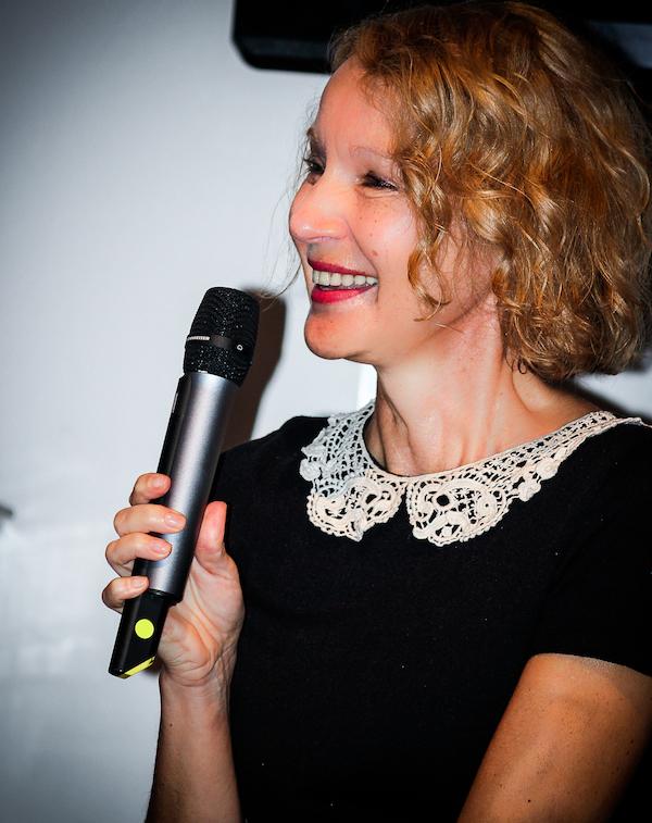 Irena Obermannová jako autorka předlohy jedné z povídek Škoda lásky. Foto: Martina Votrubová