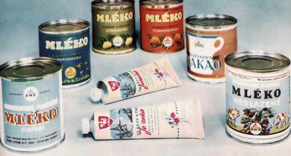 Jesenka v tubě a mléko v plechovkách