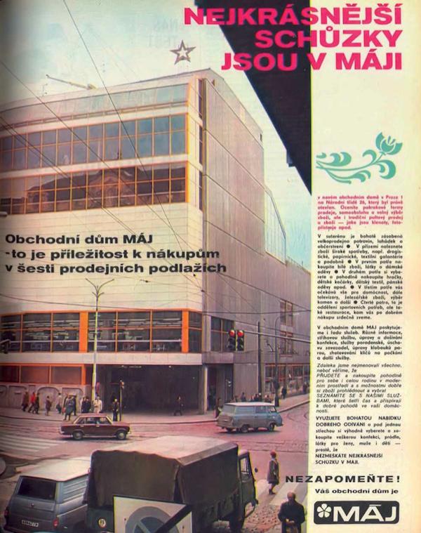 Pravý Čechů ráj - obchodní dům Máj (dnes My)