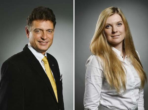 Vadim Petrov a Michaela Kokotková. Foto: Ringier Axel Springer