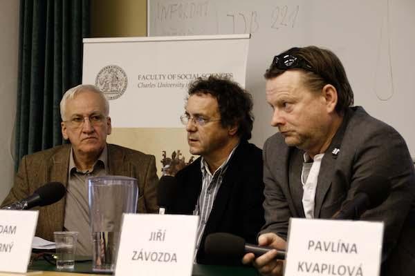 Zleva Milan Šmíd, Adam Černý, Jiří Závozda. Foto: Katka Písačková
