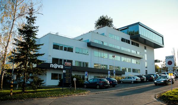 Sídlo televize Nova na pražském Barrandově. Foto: Martina Votrubová