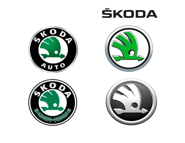 Facelift značky Škoda v posledních letech
