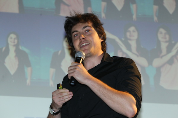 Dominik Veselý prezentuje Photoshape. Foto: Tomáš Pánek
