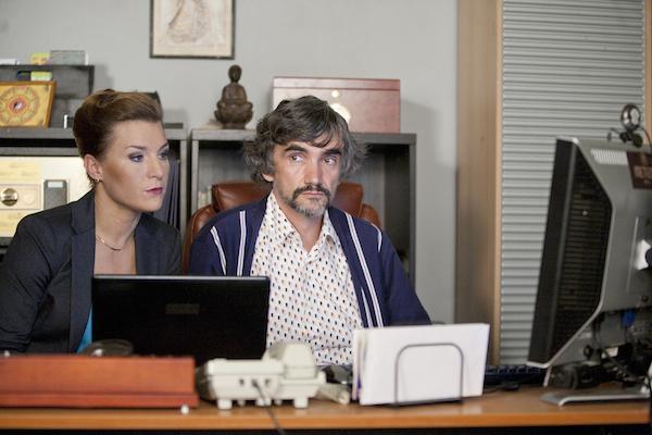 Lenka Krobotová a Martin Myšička. Foto: Česká televize