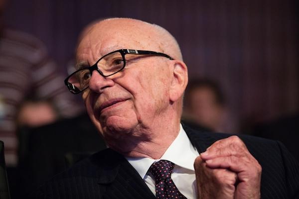 Mediální magnát Rupert Murdoch si zprávy na webu nechává platit od čtenářů. Foto: Profimedia.cz, Startraks