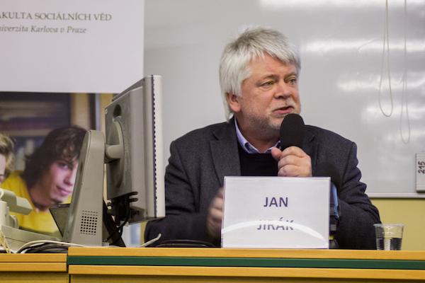 Profesor Jan Jirák. Foto: Tereza Menclová