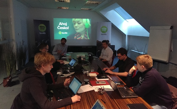 České představení služby Spotify proběhlo v Praze