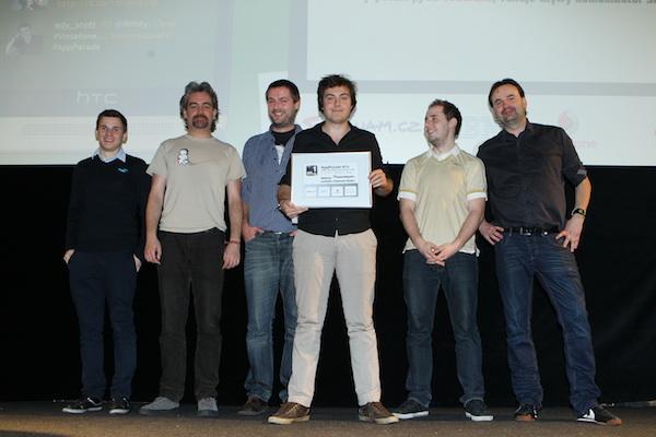 Top 5 vývojářů podle hlasujících diváků. Foto: Tomáš Pánek