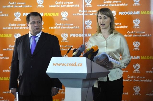 Bývalá náměstkyně ministra kultury Kateřina Kalistová kandidovala v březnu 2009 na místopředsedkyni ČSSD, neúspěšně. Pár měsíců nato se stala členkou a záhy předsedkyní rady pro vysílání. Foto: ČTK/Vondrouš Roman