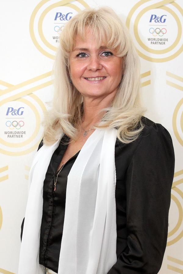 Eva Sáblíková v kampani Procter & Gamble