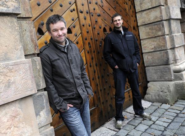 Vydavatelé Psychologie.cz Jan Majer (vlevo) a Jan Smetánka