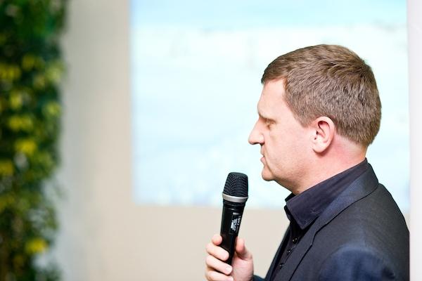 Miroslav Motejlek na konferenci Médiáře. Foto: Vojta Herout