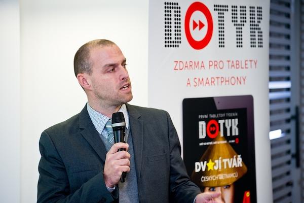 Martin Cepek se poprvé na veřejnosti představil v nové roli manažera placeného obsahu televize Prima. Foto: Vojta Herout