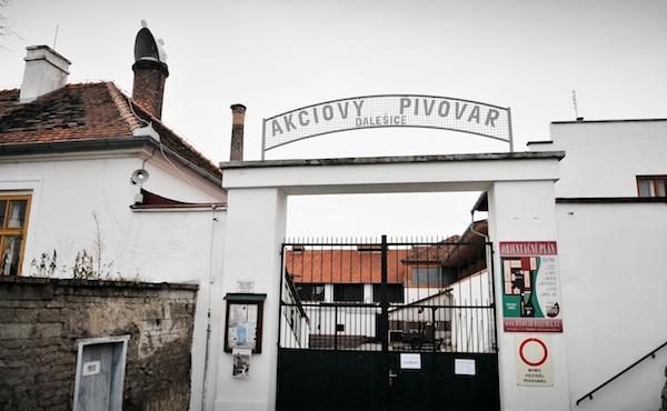 Pivovar v Dalešicích, kde se natáčel film Postřižiny. Foto: Profimedia.cz