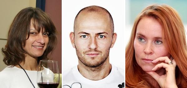 Zleva Martina Riebauerová, Martin Moravec, Sabina Slonková. Foto: Luboš Procházka / Tomáš Krist / Mafra / Profimedia.cz