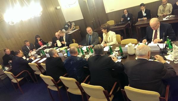 Nový volební výbor na své první letošní schůzi