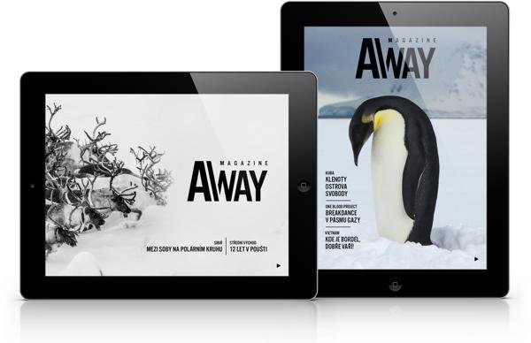 Tabletový magazín Away