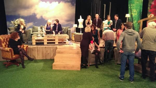 Tiskovka probíhá v kulisách nové odpolední talk show pro ženy Babinec