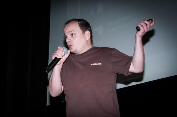 Ladislav Greiner dostal Divokou kartu Vodafonu za aplikaci pro zaznamenávání termínů. Foto: Martina Votrubová