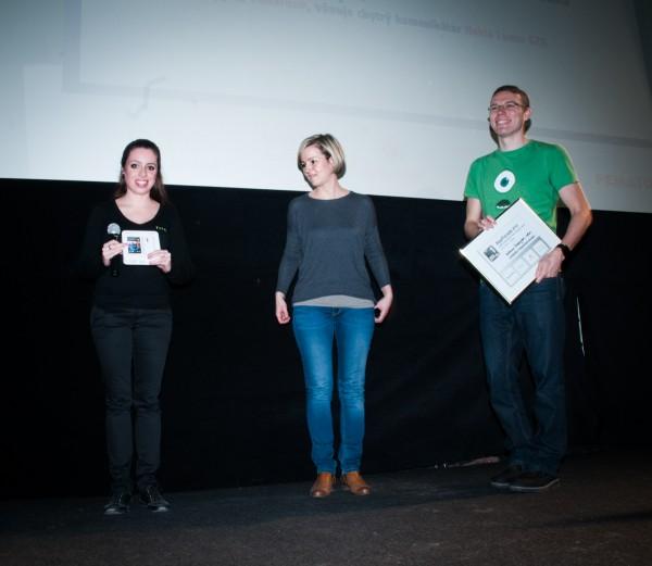 Aplikace Znakujte s námi vyhrála svým tvůrcům telefon HTC One Max. Foto: Martina Votrubová