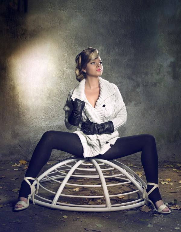 Tereza Seidlová. Foto: Hair studio Honza Kořínek