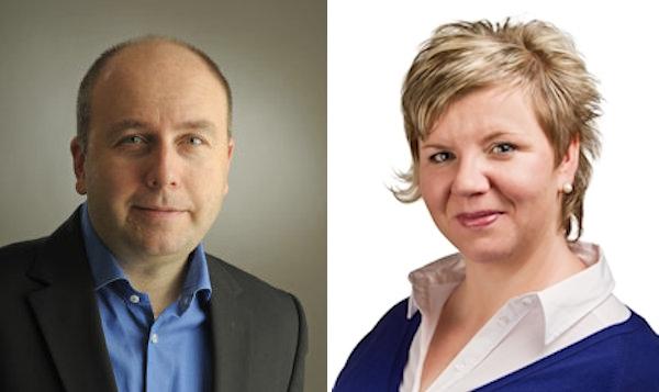 Pavel Smejkal a Gabriela Tamchynová