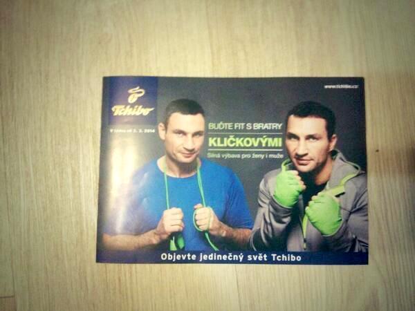 Bratři Kličkovi jsou ještě někde v Česku v kampani Tchibo vidět. Foto: Jakub Vais