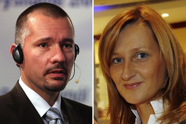Martin Veselovský a Daniela Drtinová. Foto: Profimedia.cz / MF Dnes / Adolf Horsinka