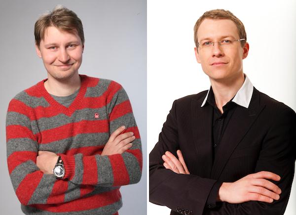 Lubor Zoufal (vlevo) a Pavel Renčín