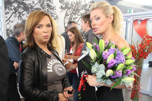 Miloslava Nováková (vlevo) vedla od dob ředitele Vladimíra Železného komunikaci televize Nova