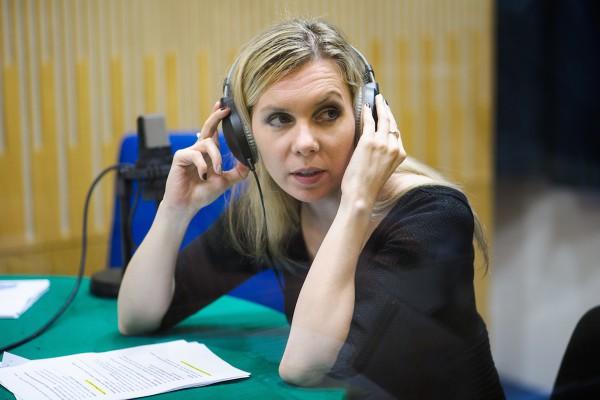 Mluvčí rozhlasu Tereza Krásenská. Foto: Khalil Baalbaki