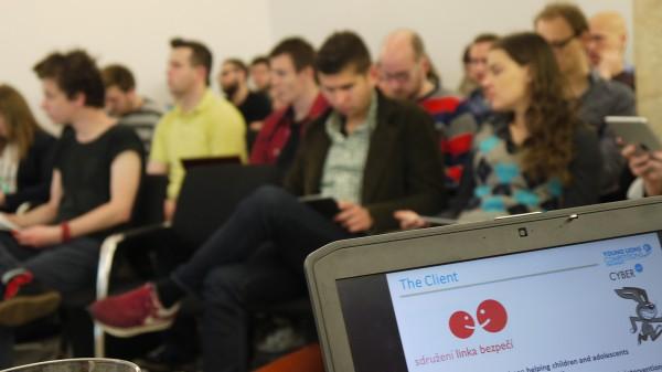 Ze zadání kategorie Cyber v pondělí v pražském Era světě. Foto: Jan Marcinek