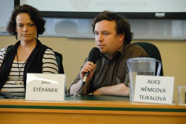 Lenka Tréglová a Jan Štěpánek. Foto: Ondřej Novák