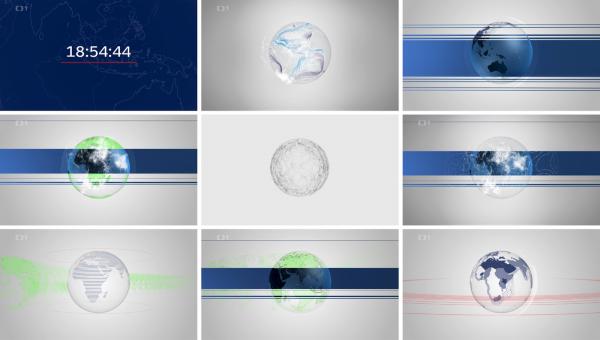 Nová znělka Událostí variuje koncept tzv. datasfér kolem zeměkoule