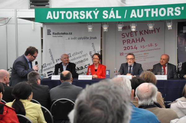 Radiotéku dnes uvedl generální ředitel Petr Duhan na pražském Světě knihy. Foto: Český rozhlas