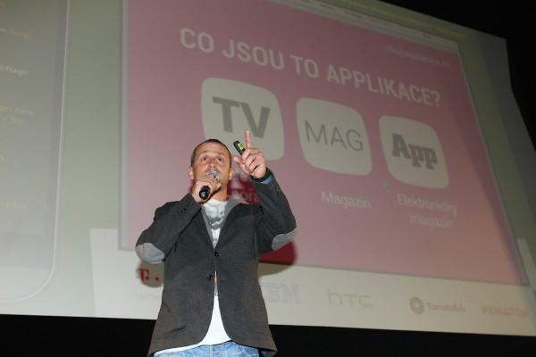 AppParade má nového partnera, televizní pořad Applikace. Připravuje ho Mikoláš Tuček. Foto: Tomáš Pánek