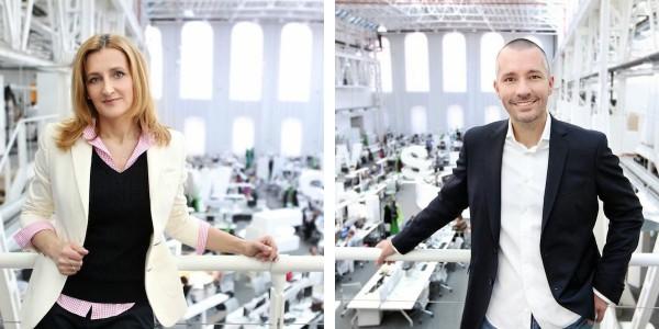 Daniela Drtinová a Martin Veselovský v newsroomu Economie
