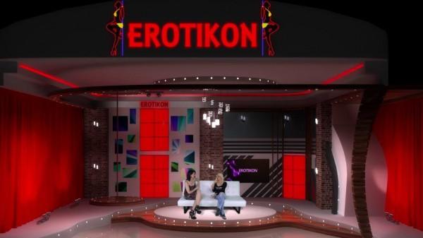 Scenérie pořadu Erotikon