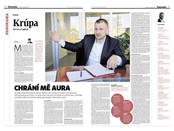 Rubrika Panorama slibuje rozsáhlou publicistiku