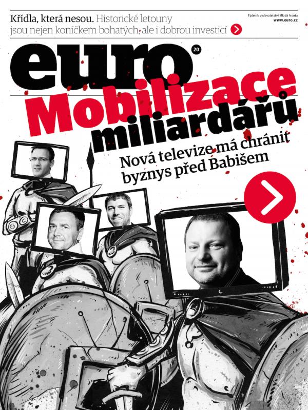 Téma má Euro i na obálce aktuálního vydání