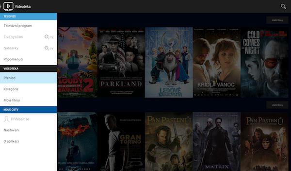 Mobilní aplikace O2 TV Go nabízí živé vysílání, archiv filmů i zpětné přehrávání