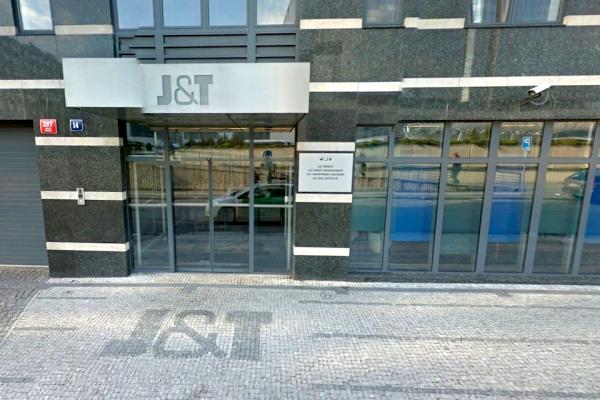 Firma Basic Properties, nový vlastník Ringieru, sídlí v pražské Pobřežní 14, jako banka J&T. Repro: Google Street View