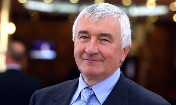 Rudolf Ovčaří v září 2009 v pražském Top hotelu na finančním fóru Zlatá koruna. Foto: Michal Šula / MF Dnes / Profimedia.cz