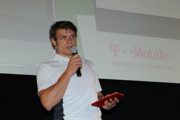 Tomáš Šebek při prezentaci. Foto: Tomáš Pánek