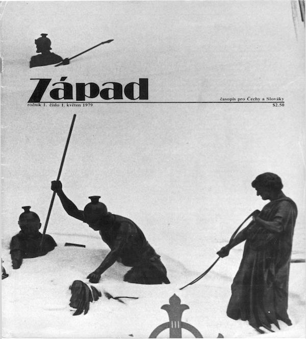 Exilový Západ poprvé vyšel v roce 1979. Repro: ustrcr.cz