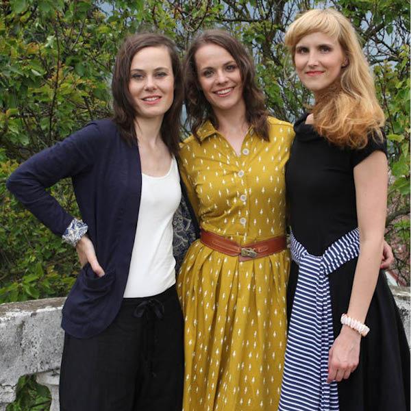 Trio autorek magazínu Soffa: zleva Lina Németh, Lenka Hlaváčová, Adéla Kudrnová
