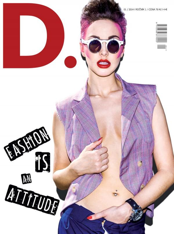 Titulní strana nového časopisu D.