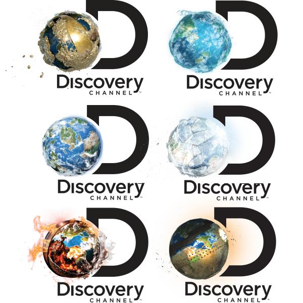 Varianty nového loga Discovery